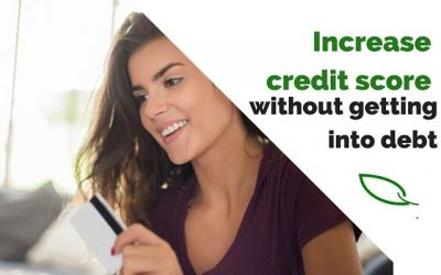 How to increase credit score without getting into debt