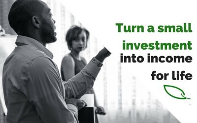 How to turn a small investment into income for life