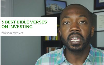 3 Best Bible verses on investing