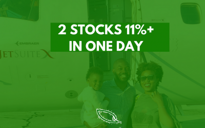 Why 2 of my stock picks soared 11%+ in one day