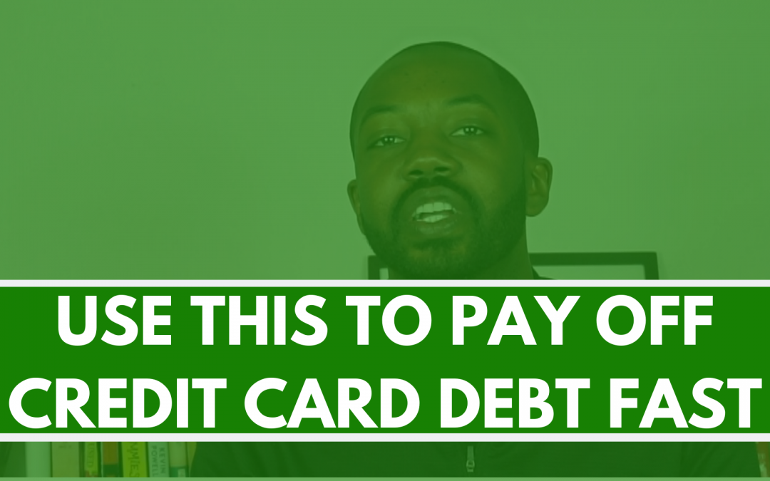 Credit card balance transfer strategy, pay off debt fast